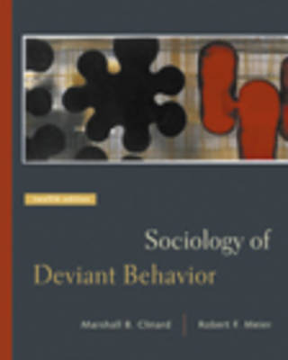 Sociology of Deviant Behavior (Hardback)