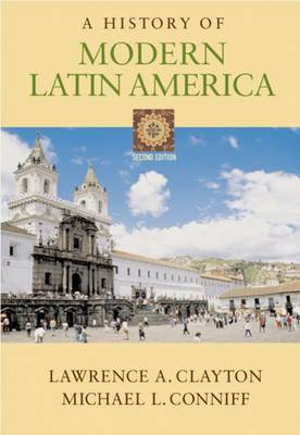 A History of Modern Latin America (Paperback)