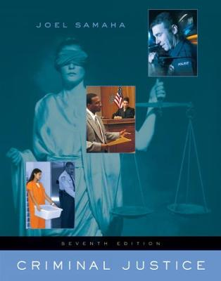 Criminal Justice (with InfoTrac (R)) (Hardback)