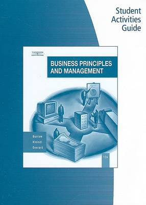 Student Activity Guide for Burrow/Kleindl's Business Principles and Management, 12th (Paperback)