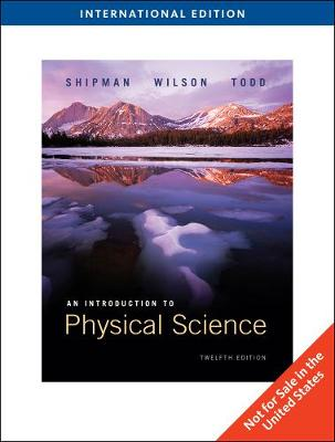 Introduction to Physical Science - Revised Printing, International Edition (Paperback)