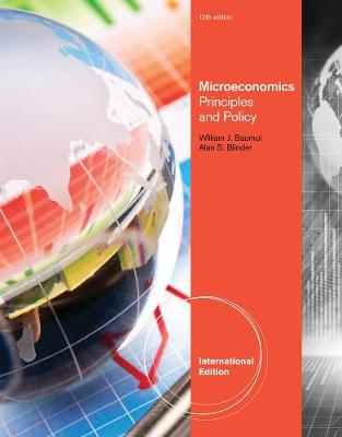 Microeconomics: Principles and Policy, International Edition (Paperback)