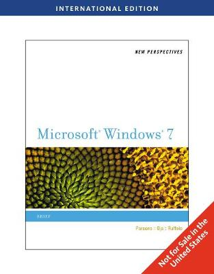New Perspectives on Microsoft (R) Windows 7, Brief International Edition (Paperback)