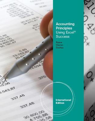 Accounting Principles Using Excel (R) for Success