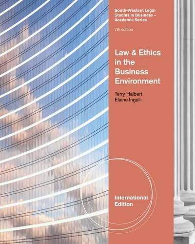 Law and Ethics in the Business Environment (Paperback)