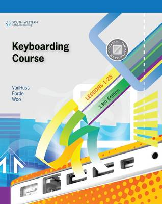 Keyboarding Course, Lessons 1-25 (Paperback)
