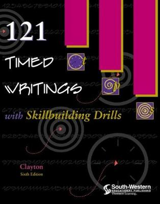 121 Timed Writings with Skillbuilding Drills (Paperback)