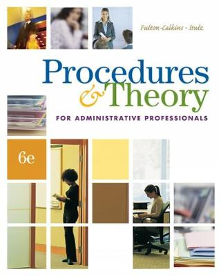 Procedures & Theory for Administrative Professionals (with CD-ROM) (Hardback)