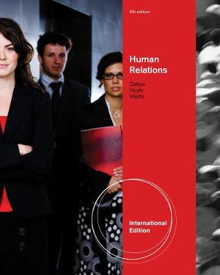 Human Relations, International Edition (Paperback)