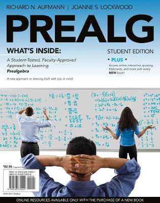 PREALG (with Review Cards and Mathematics CourseMate with eBook Printed Access Card)