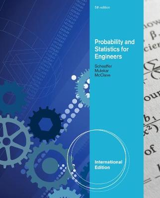 Probability and Statistics for Engineers, International Edition (Paperback)