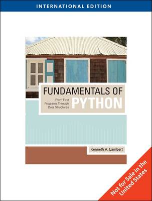 Fundamentals of Python: From First Programs Through Data Structures (Paperback)