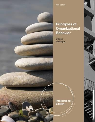 Principles of Organizational Behavior, International Edition (Paperback)