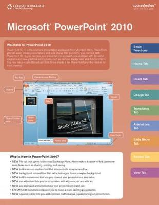 Microsoft (R) PowerPoint (R) 2010 CourseNotes