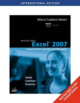 Microsoft Office Excel 2007: Comprehensive Concepts and Techniques (Paperback)