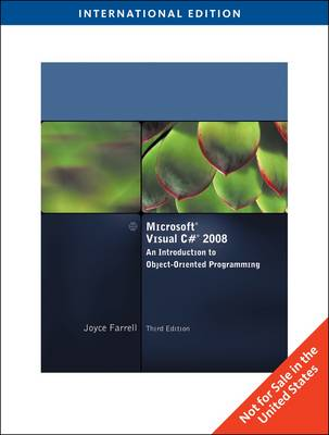 Microsoft Visual C# 2008: An Introduction to Object-oriented Programming (Paperback)