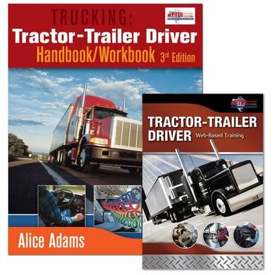 Trucking: Tractor-trailer Driver Handbook/workbook and Web Based Training (WBT) Course Bundle (Paperback)