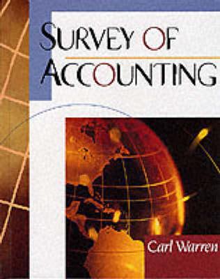 Survey of Accounting (Hardback)
