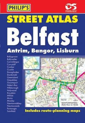Philip's Street Atlas Belfast - Philip's Street Atlases (Paperback)
