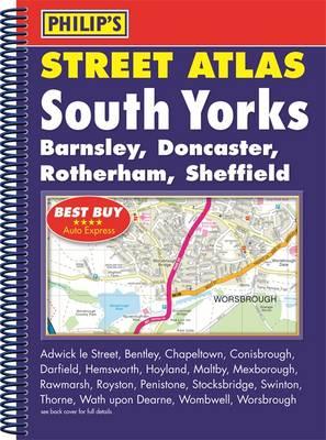 Philip's Street Atlas South Yorkshire (Spiral bound)