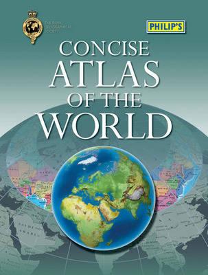 Philip's Concise Atlas of the World (Hardback)