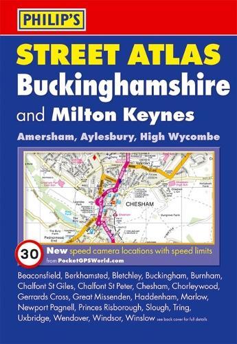 Philip's Street Atlas Buckinghamshire - Philip's Street Atlas (Paperback)