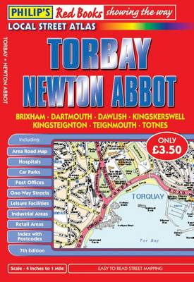 Philip's Red Books Torbay and Newton Abbot - Philip's Red Books (Paperback)