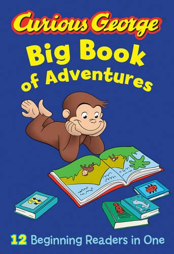 Cover Curious George Big Book of Adventures