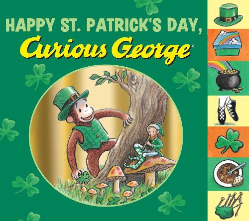 Cover Happy St. Patrick's Day, Curious George