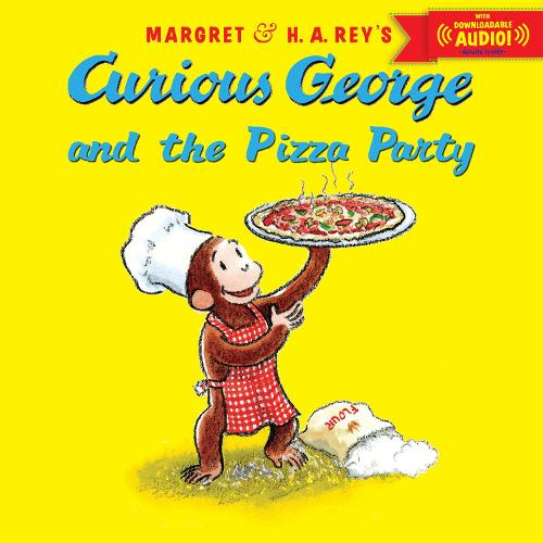 Cover Curious George and the Pizza Party