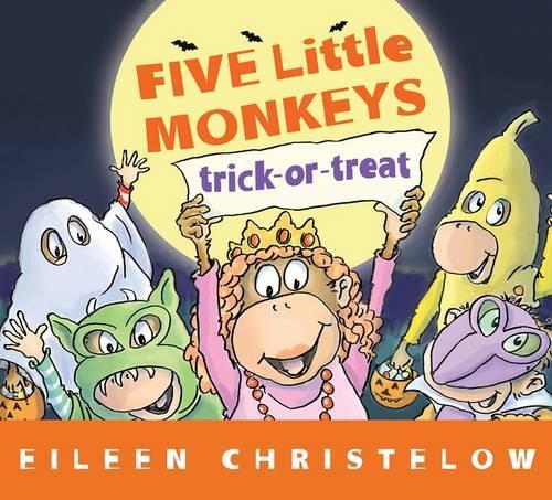 Five Little Monkey Trick or Treat (Hardback)