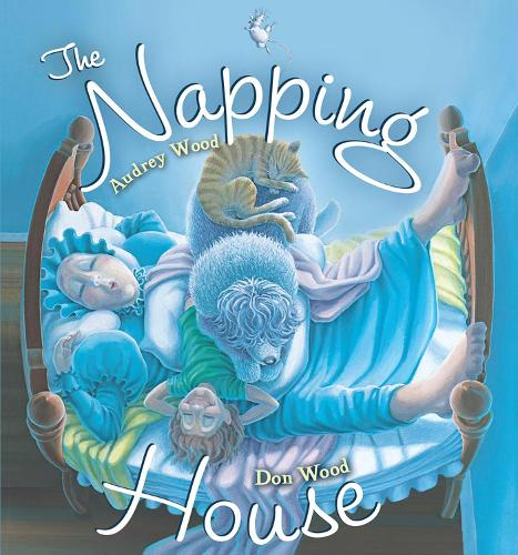 The Napping House Board Book (Hardback)