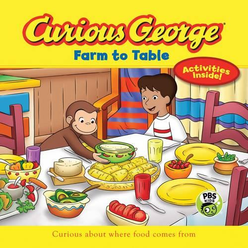 Curious George Farm to Table (CGTV 8x8) (Paperback)