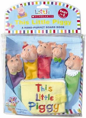 This Little Piggy - Hand Puppet Board Books