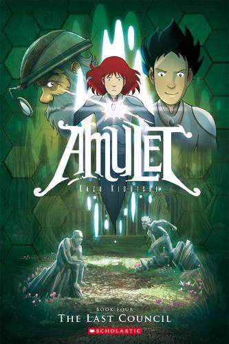 Amulet: The Last Council - Amulet 4 (Paperback)