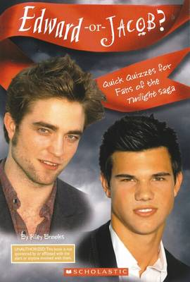 Edward or Jacob? - Quick Quizzes for Bff'S (Paperback)