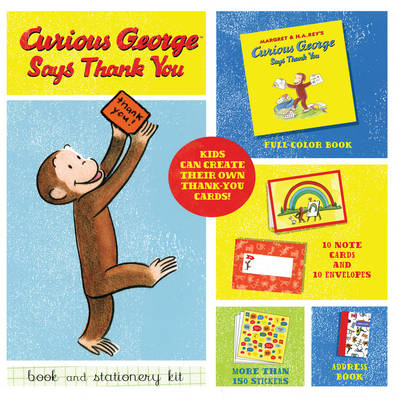 Curious George Says Thank You (Hardback)