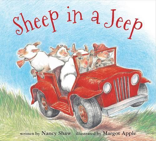 Sheep in a Jeep (Hardback)