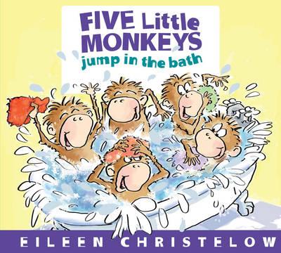 Five Little Monkeys Jump in the Bath (Hardback)
