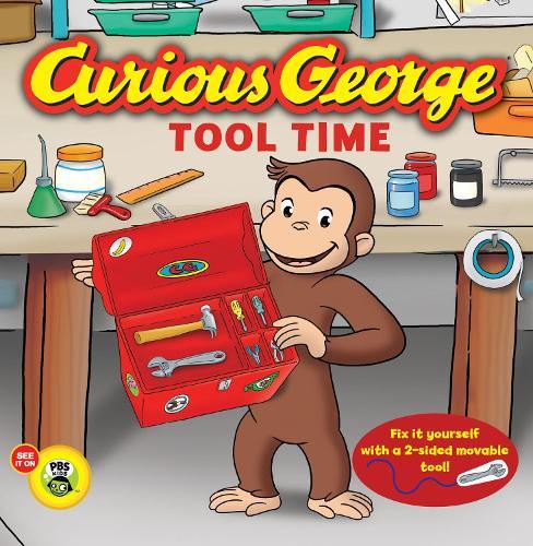 Curious George Tool Time (CGTV Board Book) (Board book)