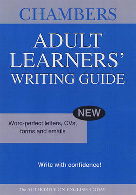 Chambers Adult Learners' Writing Guide (Paperback)