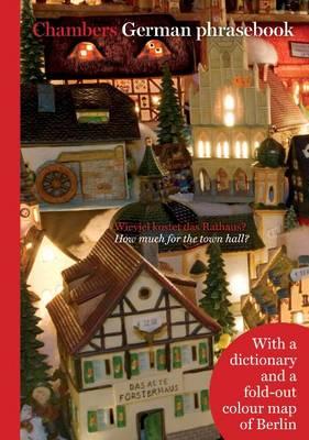 Chambers German Phrasebook (Paperback)