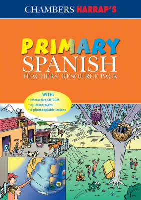 Primary Spanish: Teachers' Resource Pack (Paperback)