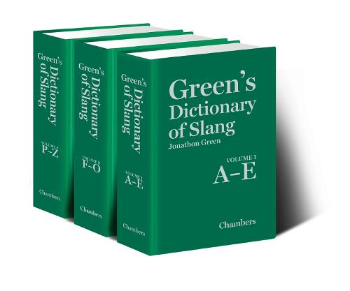Green's Dictionary of Slang (multi-volume set) (Hardback)