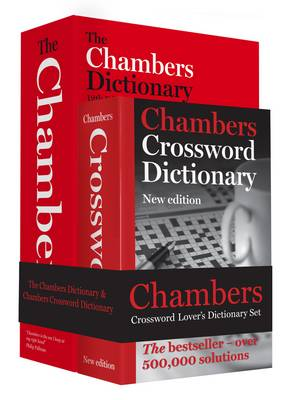 Chambers Word Lover's Crossword Dictionary Set (Hardback)