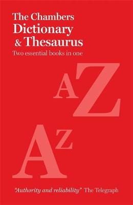 The Chambers Paperback Dictionary and Thesaurus (Paperback)