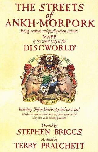 The Streets of Ankh Morpork: Being a Concife and Possibly Even Accurate Mapp of the Great City of the Discworld : Including Unfeen University and Environs! ... (Paperback)