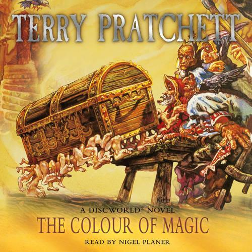 The Colour Of Magic: (Discworld Novel 1) - Discworld Novels (CD-Audio)