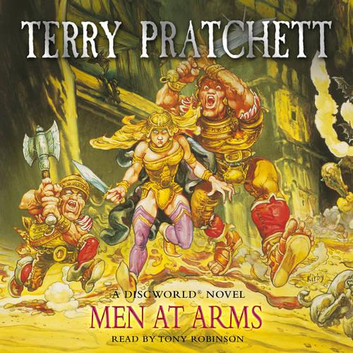 Men At Arms: (Discworld Novel 15) - Discworld Novels (CD-Audio)