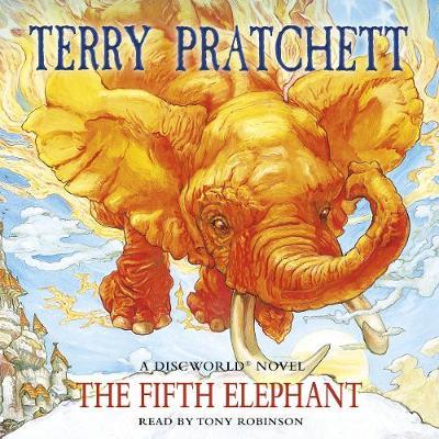 The Fifth Elephant: (Discworld Novel 24) - Discworld Novels (CD-Audio)